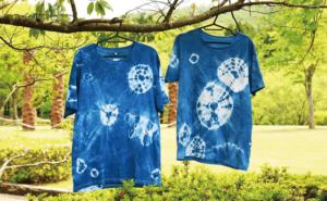 「夏休み企画」陶芸公園で藍染オリジナルTシャツを染めよう!