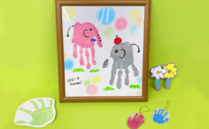 親子クラフト教室「てがたアート」